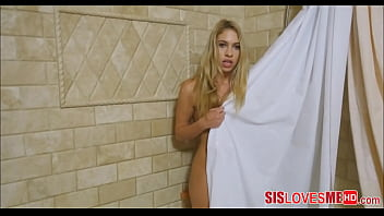 Caught My Step Sister In The Shower Mastubating