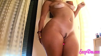 Cum with my big  plugged ass