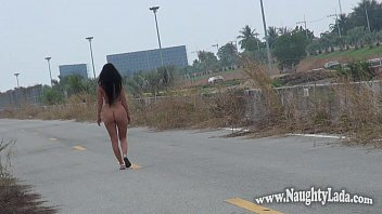 Public nudity on roads Image