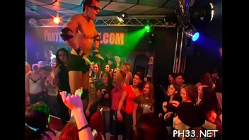 Hardcore girls night strippers Wild fuck allover the night club everyone having natty juicy group sex