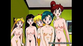 clip xxxภาพการ์ตูนโป๊จาก Sailormoon พวกสาวๆผลัดกันเล่นเสียว