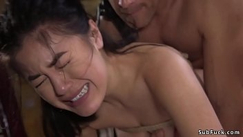 Dude caught victim and anal fucked her