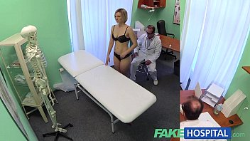 FakeHospital New doctor gets horny MILF naked and wet with desire pornhub video