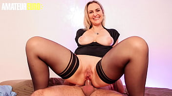 LA NOVICE - (Kaylee & Fabrice Triple X) Big Ass French MILF Gets A Big Cock In Both Holes