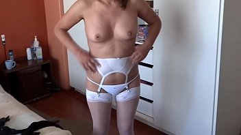 ARDIENTES 69 - MY BEAUTIFUL WIFE IS ON DISPLAY IN LINGERIE
