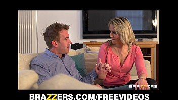 Beautiful blonde pornstar Brooklyn Blue breaks up a marriage 7 min