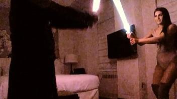 Duel. Wonder Star vs. Darth Sith