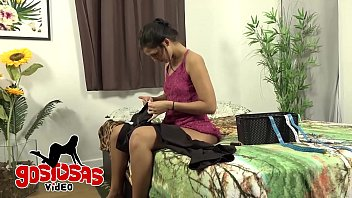 Housewife Cheating Husband - Sewing Out 10 min