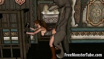 3D Red Riding Hood gets fucked by the Big Bad Wolfd 720-high 1