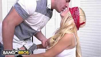 Bangbros - Peter Green Surprises His Teen Girlfriend Aspen Romanoff With A Threesome!