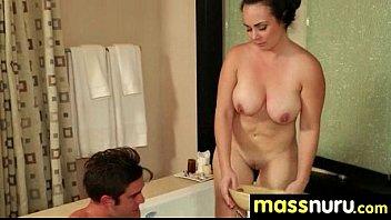 slippery nuru massage for lucky dude 29 5 min