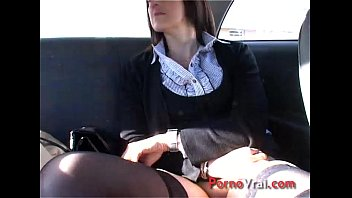 Orgasm mature naive french with a stranger French amateur 12 min