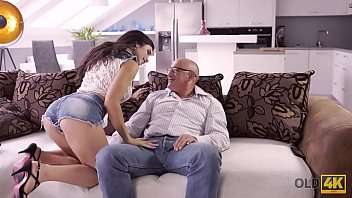 OLD4K. Muscled old gentleman Bruno s. with dazzling hottie Mira Cuckold