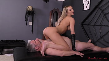 Tiffany Watson - Mistress Tiffany Makes Her Slave Worship Her Ass & Feet