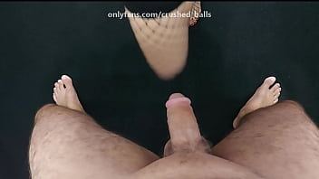 [Real Couple] - My wife crushing my balls
