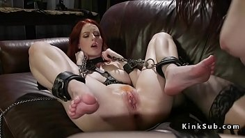Bondage stories feet Redhead feet whipped before anal fucked
