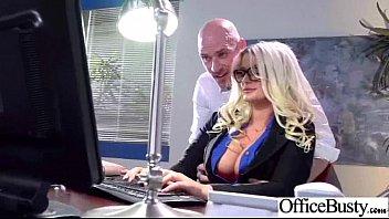 (julie Cash) Busty Slut Office Girl Like Hardcore Sex Mov-19