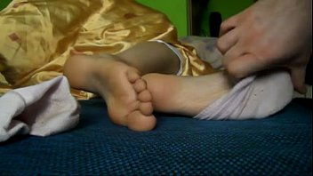 Slave lick smelly feet