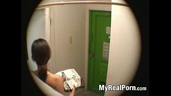 Asian chef delivery Japanese wife flashing delivery guy 3