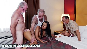 Grandfather fucking girl Blue pill men - three old men and a latin lady named nikki kay