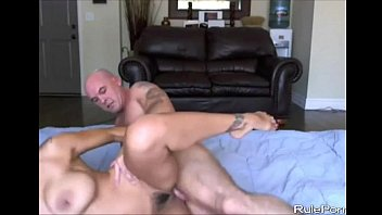 Rough Sex with Hairy Pussy Big Tit Latina Image