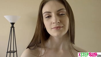 My stepsister Maya Kendrick squirted all over my cock