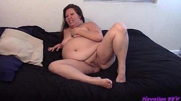 Naughty BBW Housewife Naked