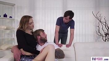 Bisexual step dad fucks y. couple
