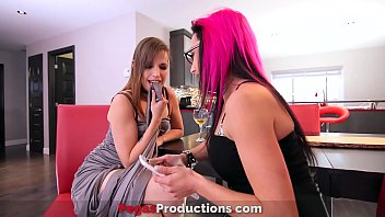 Pegas Productions - Hot Threesome Between Two Horny Babe and a Pervy Dude