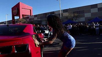 darleen davne evento  car wash parte 1 PERFILORIGINAL