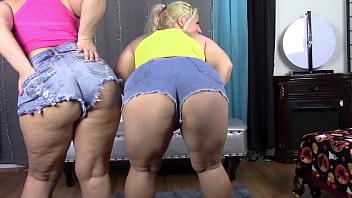 BBW Big Booty White Girls Lexxxi Lockhart Georgia Peach Jean Booty Tease