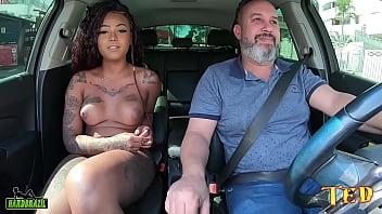 Carona do Ted Trans #003 com a mulata mais linda do Brasil - Sereia Mel 44分钟
