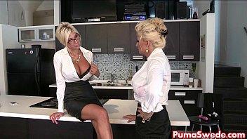 Milf skirts - Puma swede bobbi eden are the lesbian office slut