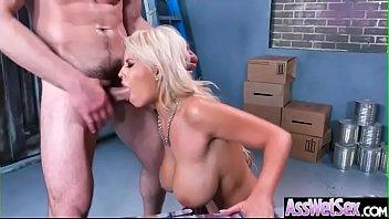 (Bridgette B) Superb Girl With Round Ass Get Anal Bang Clip-17