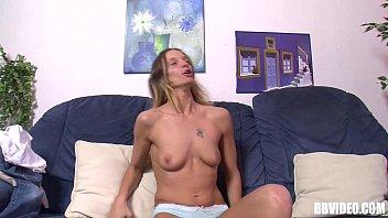 Blonde German hottie masturbating 9 min