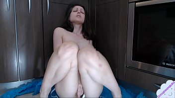 Sensual pussy play from mom with hairy pussy with sex toy www.myclearsky.live/myclearsky