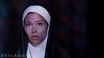 Priest & Nuns Fuck The Demon Out Of Possessed Slut - EvilAngel thumbnail