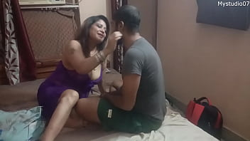 My friends fuck my stepmom, I record everything with clear Hindi audio 14 min