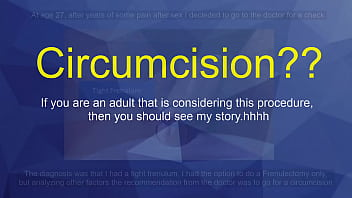 Circumcision?? Check this out.