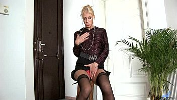 Sexy Dione Darling wet and horny in the bathroom