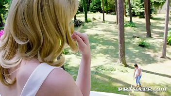 Private teen shot - Anny aurora fucks the gardener