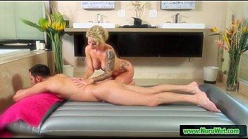 Masseuse gives nuru wet massage 23