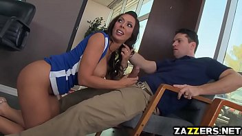 Rachel Starr swallows Preston Parkers lonely cock Image
