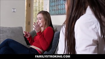 Hot Teen Stepsister And Her Brother Surprise Sex Therapy thumbnail