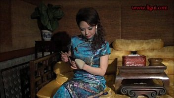 chinese bondage very sexy chipao stockings and high heels