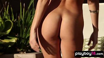 Bombastic Jennifer Vaughn introducing her epic tits
