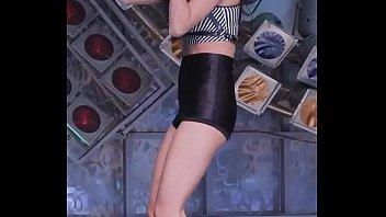 公众号【是小喵啦】知名韩国女团户外超短裤热舞,身材很棒