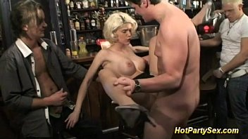Bar harbor maine escorts - Blonde busty slut is the main attraction of the bar