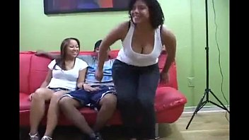 Two Jersey Friends Have Their First Threesome 16 min