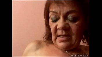 Granny sex record - Hairy granny marsha fucks in pov